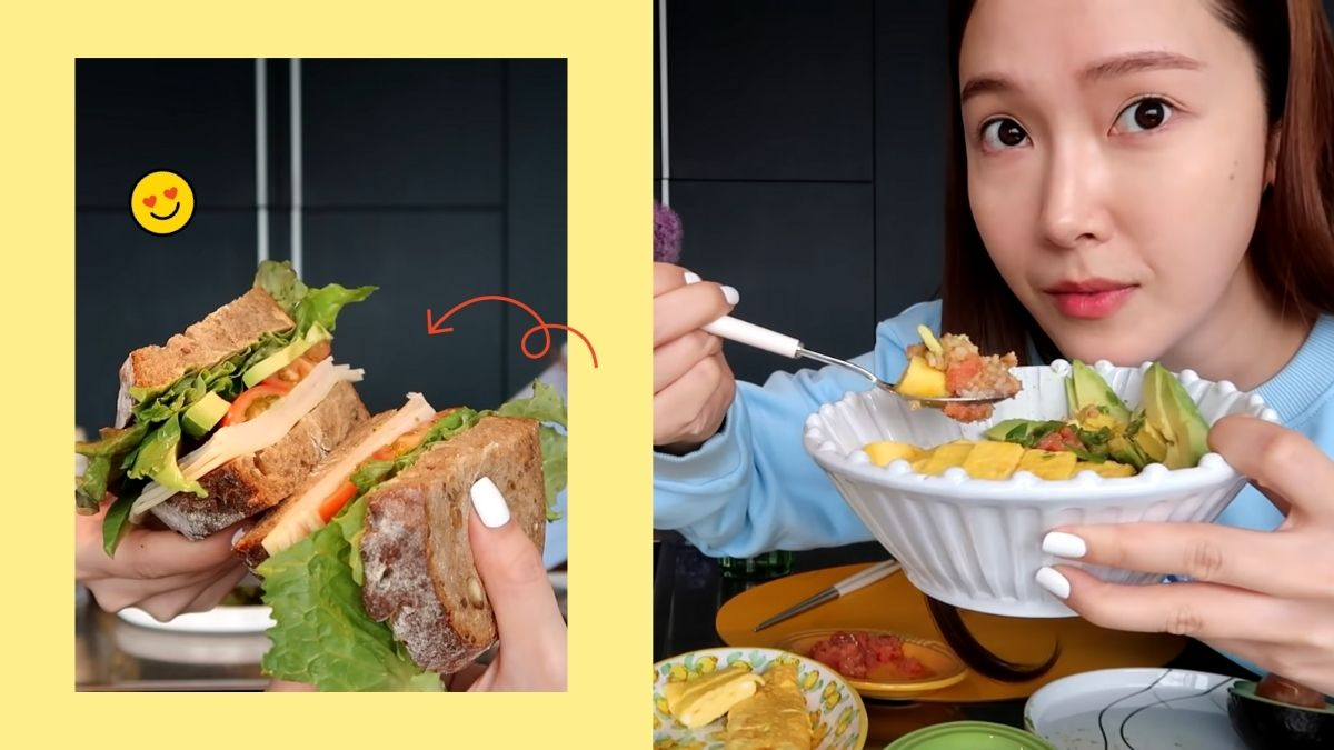 Jessica Jung's diet vlog