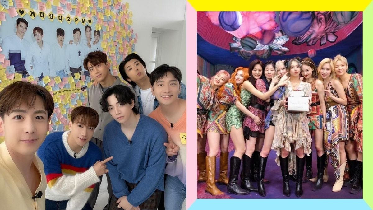 K-pop groups who were formed through survival shows