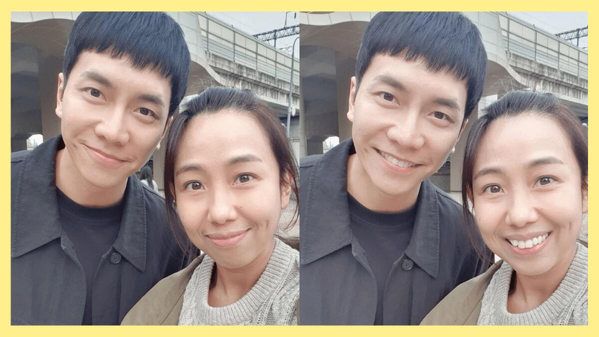 pinay actress with lee seung gi in mouse k-drama