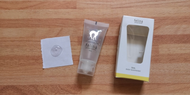 mini review of felina lubricant, experience