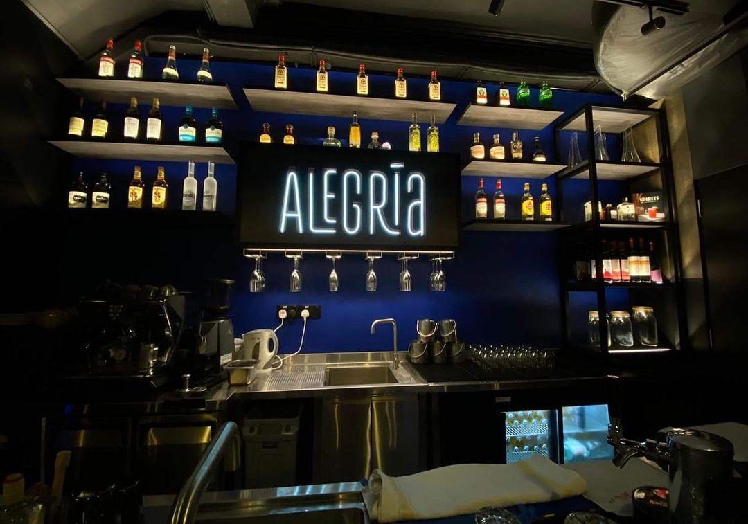 Inside Alegria Singapura in Singapore, a restaurant by Dimples Romana