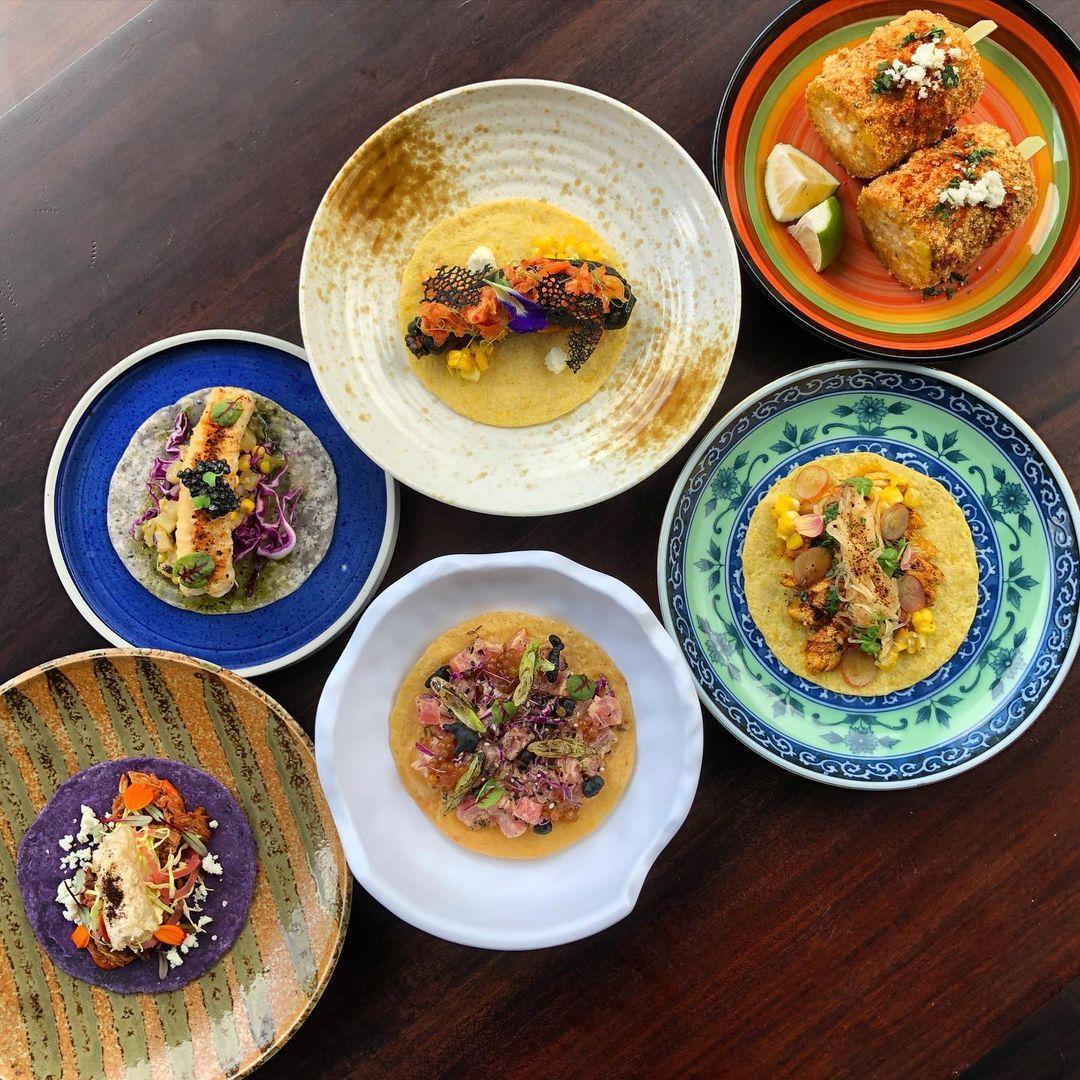 Alegria Singapura food, menu