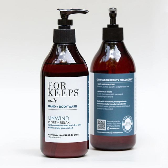 For Keeps Unwind Hand and Body Wash