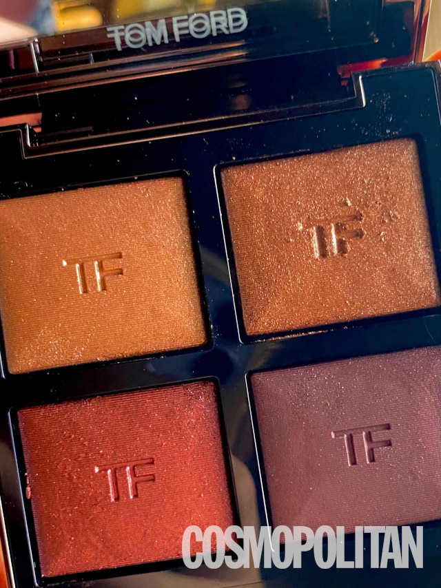 Tom Ford eyeshadow palette: After iPhone photo editing