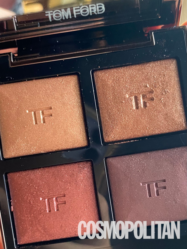 Tom Ford eyeshadow palette: Before iPhone photo editing