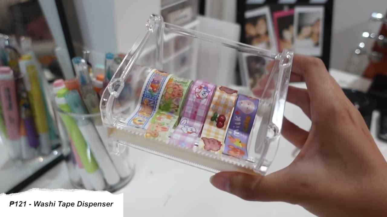 A washi tape dispenser