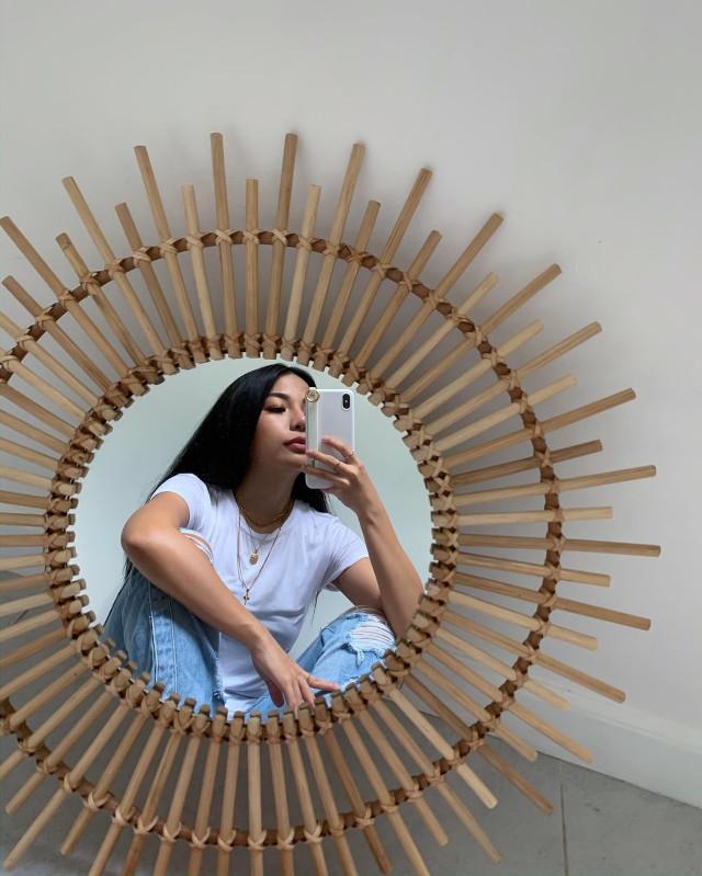 Round Mirror Selfies: Michelle Dy