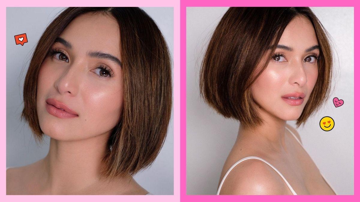 Jennylyn Mercado's bob haircut, hairstyle