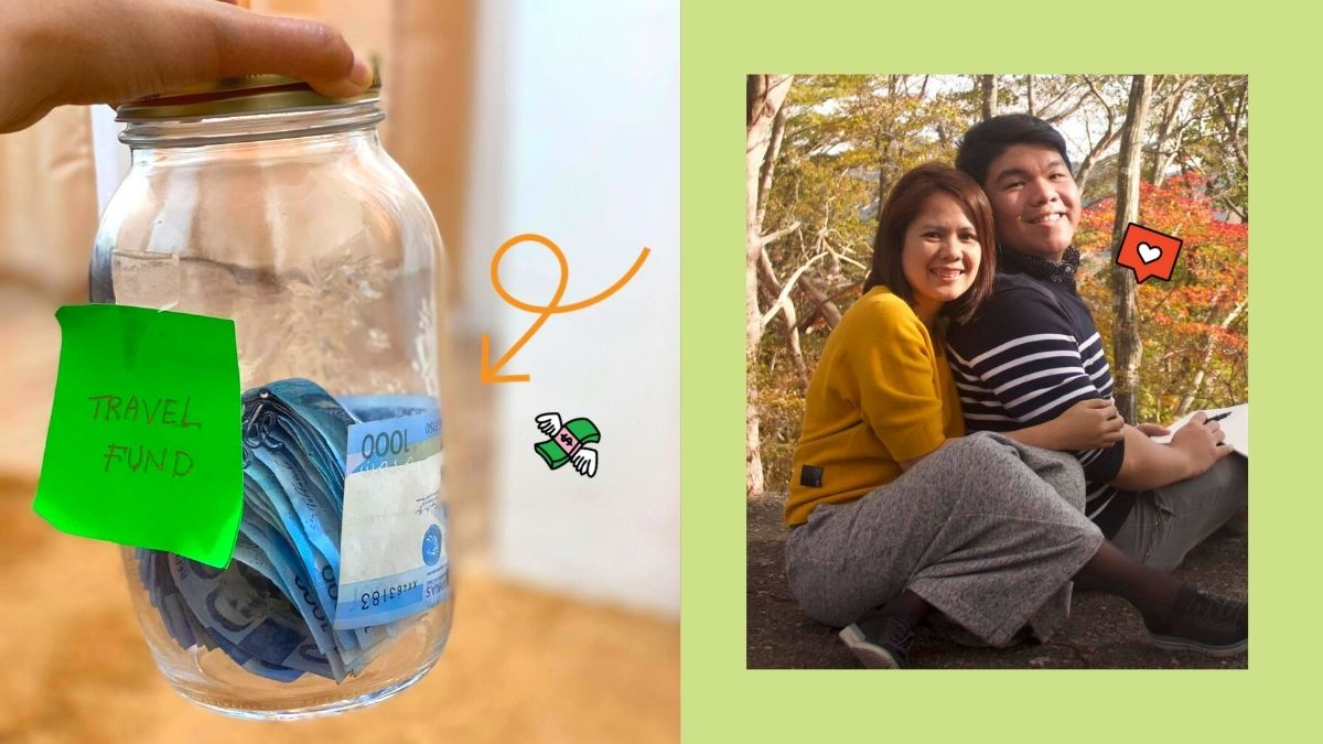 Pinoy couple sets up a travel jar with funds coming from 'budol' violations