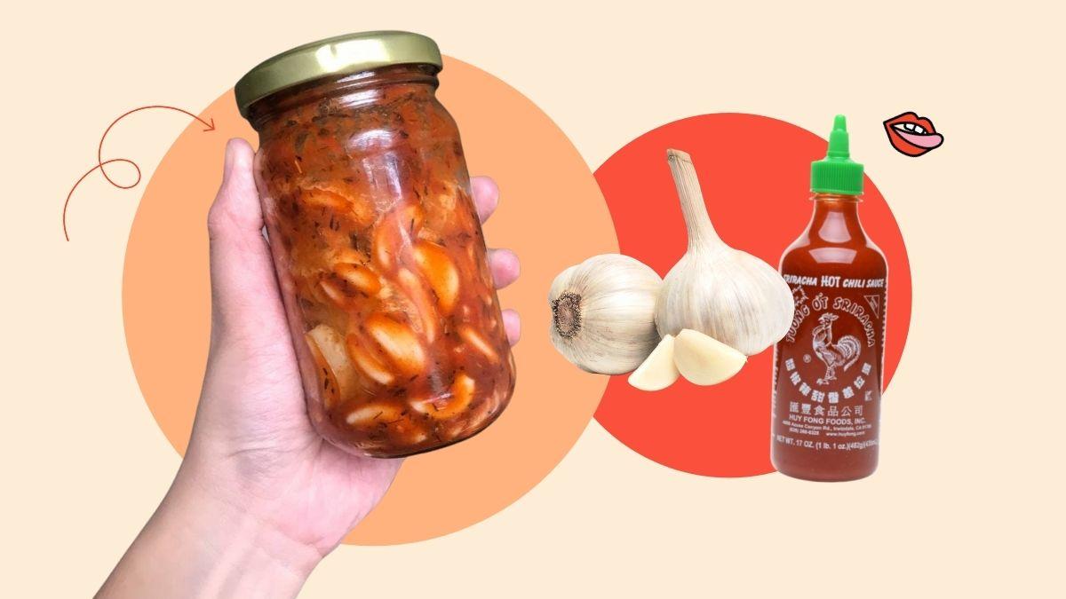 tiktok spicy pickled garlic recipe review