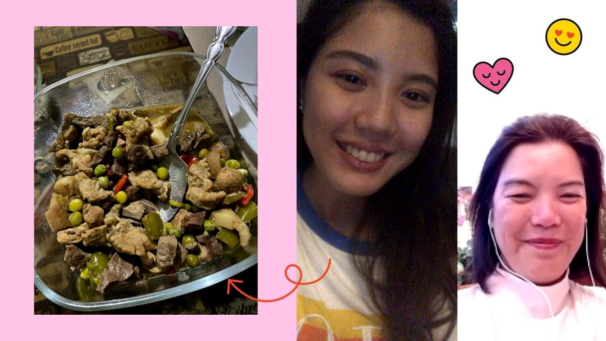Bonding With My Mom & Lola About Food Through Video Calls
