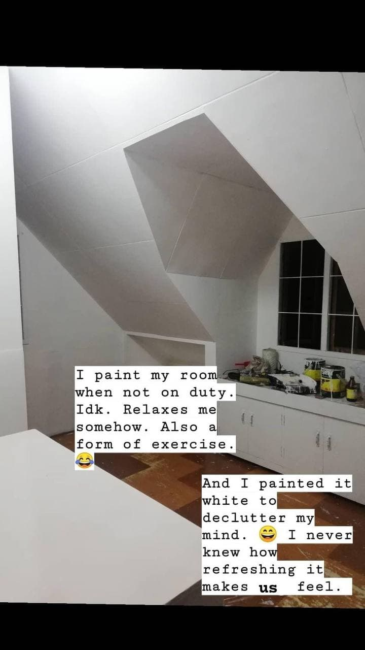 DIY room makeover - Before pic