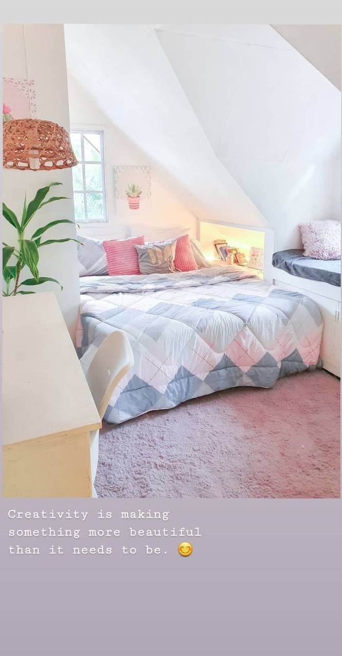 DIY room makeover - bedroom
