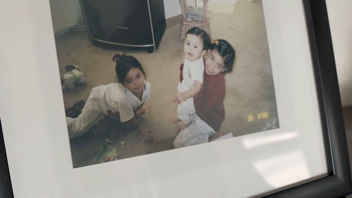 Julia Barretto home office tour - photo with sisters Dani and Claudia Barretto