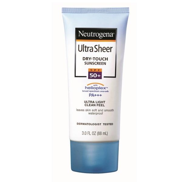 Neutrogena Ultra Sheer Dry-Touch Sunscreen Broad Spectrum SPF50