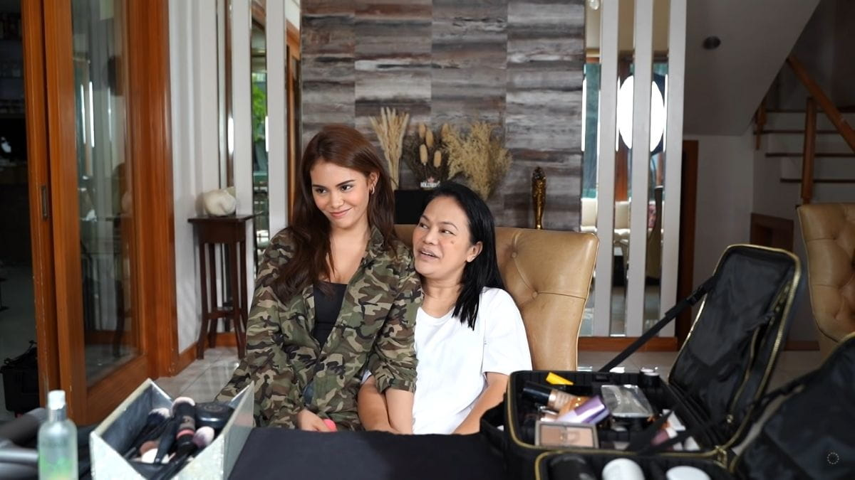 Ivana Alawi surprises mom for Mother's Day: doing her mom's hair and makeup