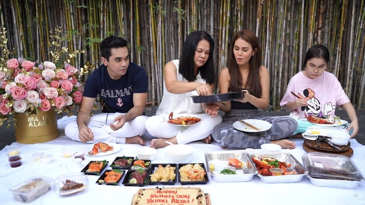 Ivana Alawi surprises mom for Mother's Day: picnic spread