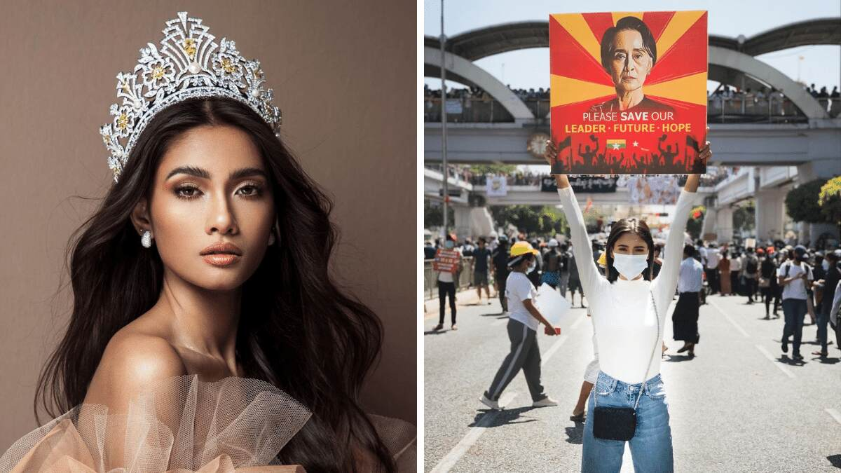 Miss Universe Myanmar Is Also Speaking Out About The Military Coup In Her Country