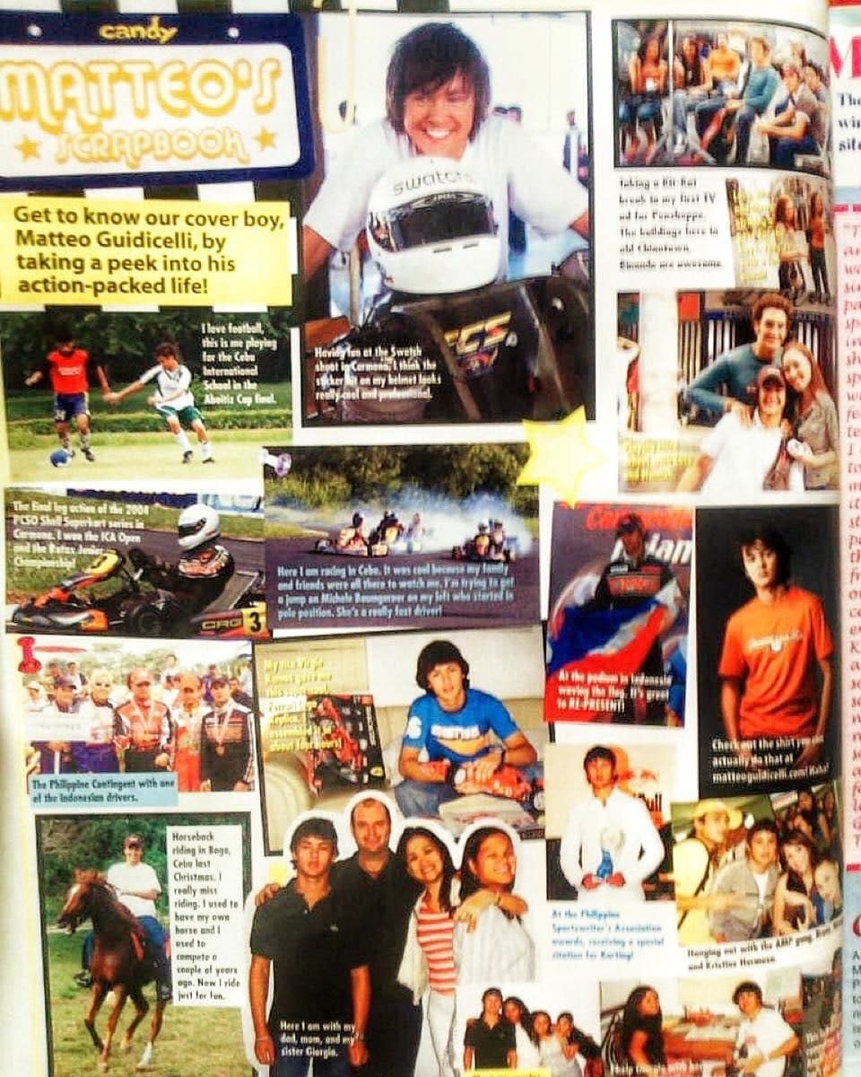 A Candy Mag issue featuring Matteo Guidicelli