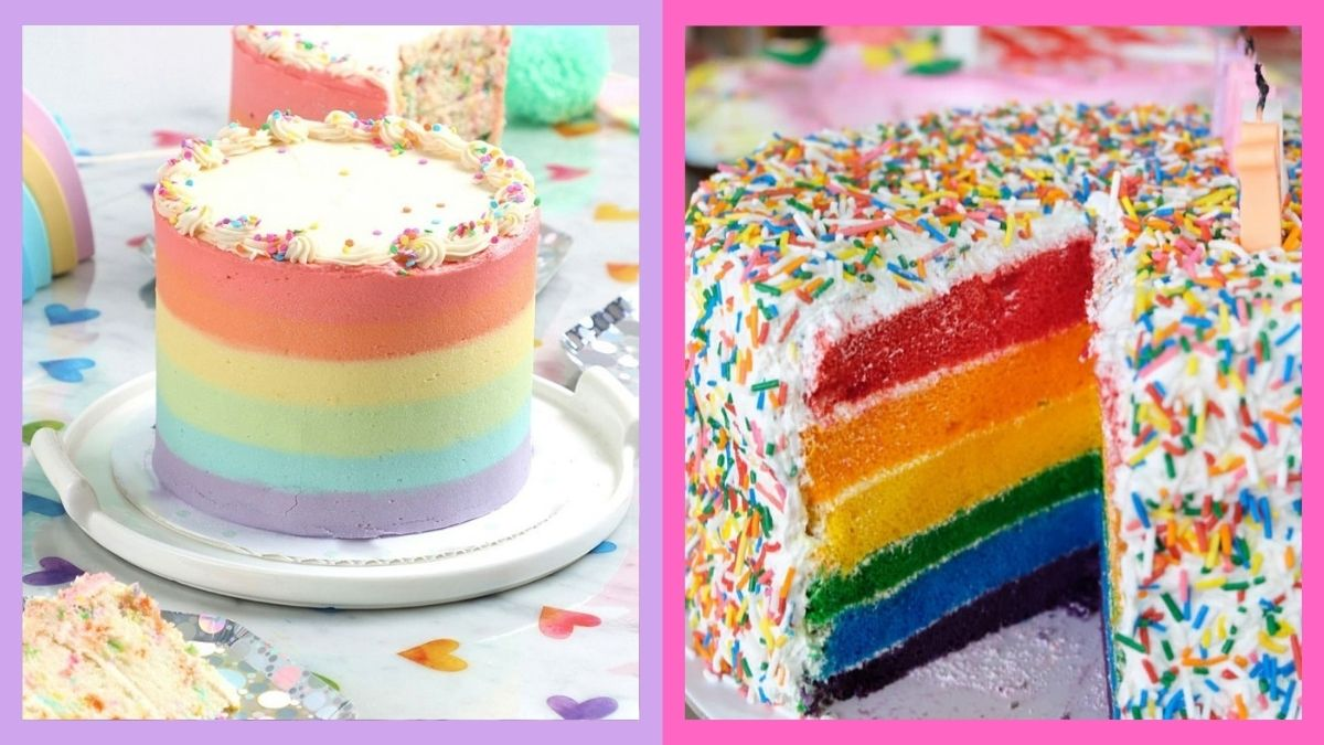 Where to buy rainbow cakes