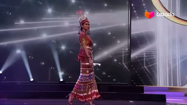 miss universe costume pray for myanmar