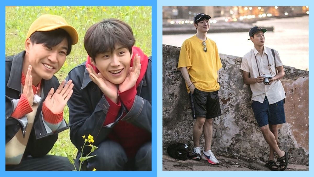 Korean variety shows about travel
