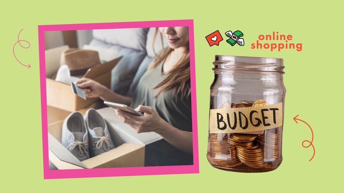 setting a budget for online shopping