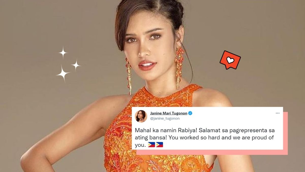 former beauty queens of the Philippines share post-pageant social media posts for Rabiya Mateo
