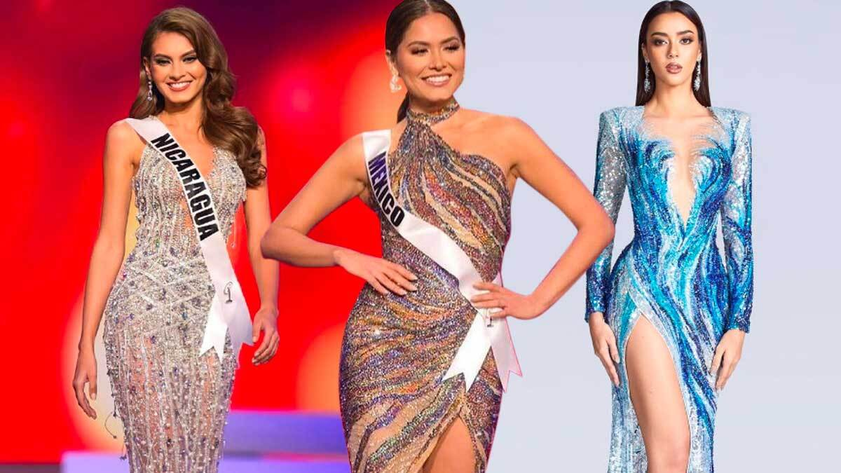 Miss Universe 2020 Sparkly Gowns