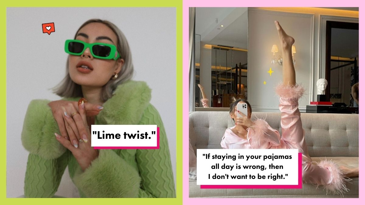 Fashion captions for outfits on Instagram