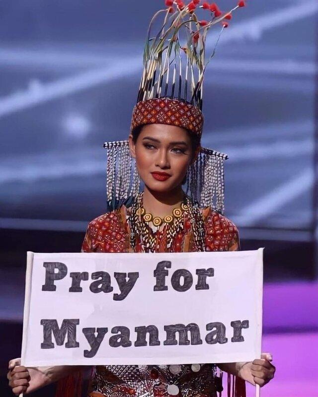 miss universe myanmar 2020 costume