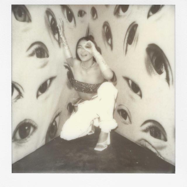 Nadine Lustre Polaroid Photo