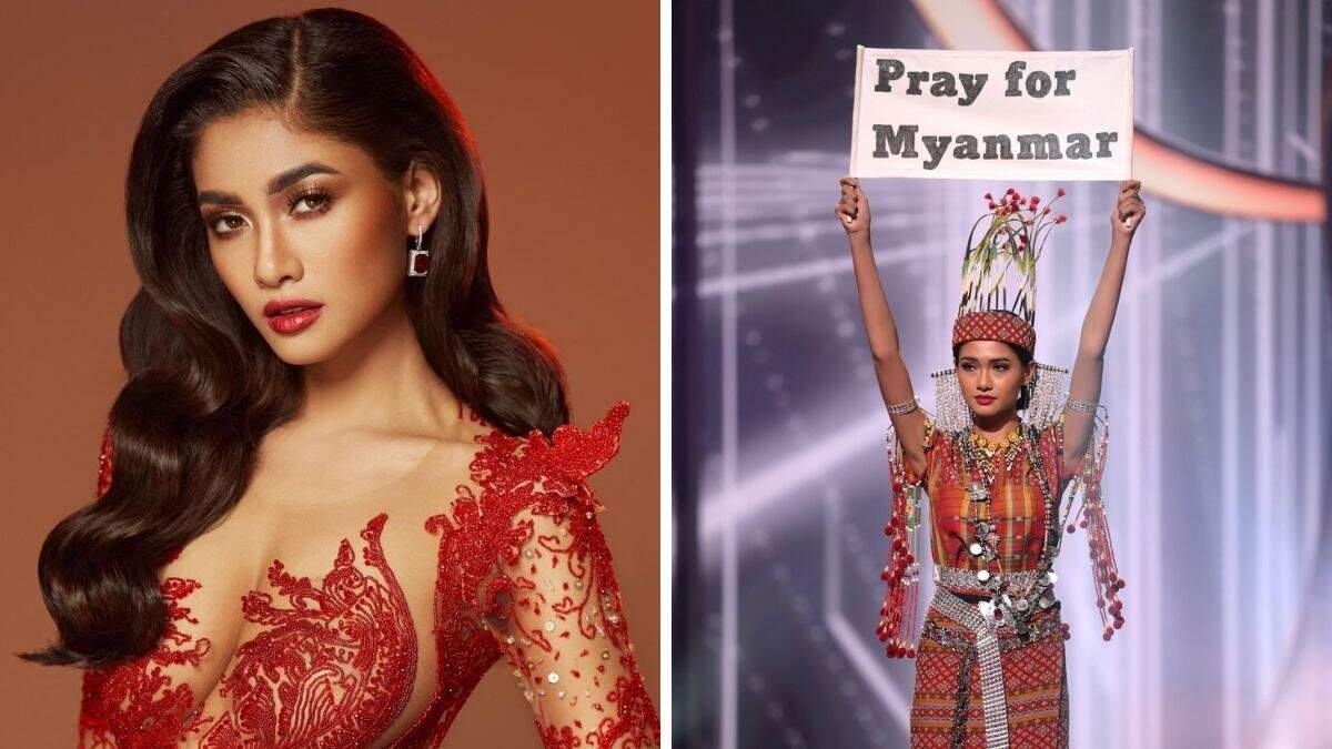 Why Miss Universe Myanmar Thuzar Wint Lin Can't Go Back Home