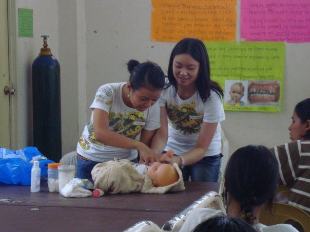 Pinay in nursing class