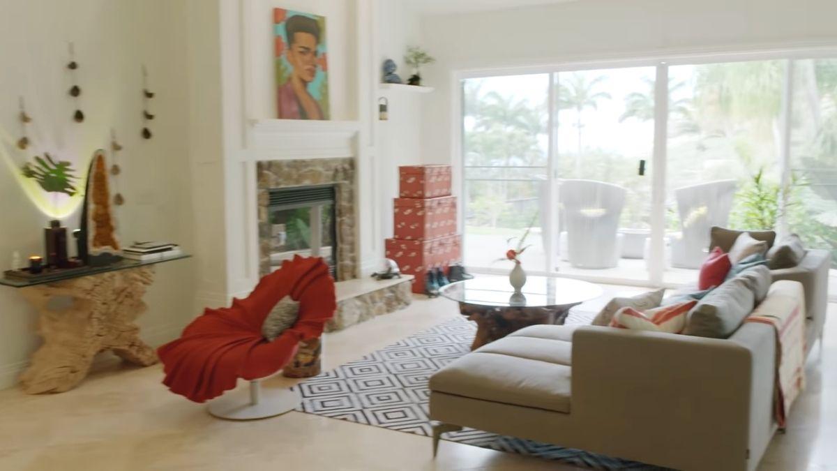 Bretman Rock's formal living room