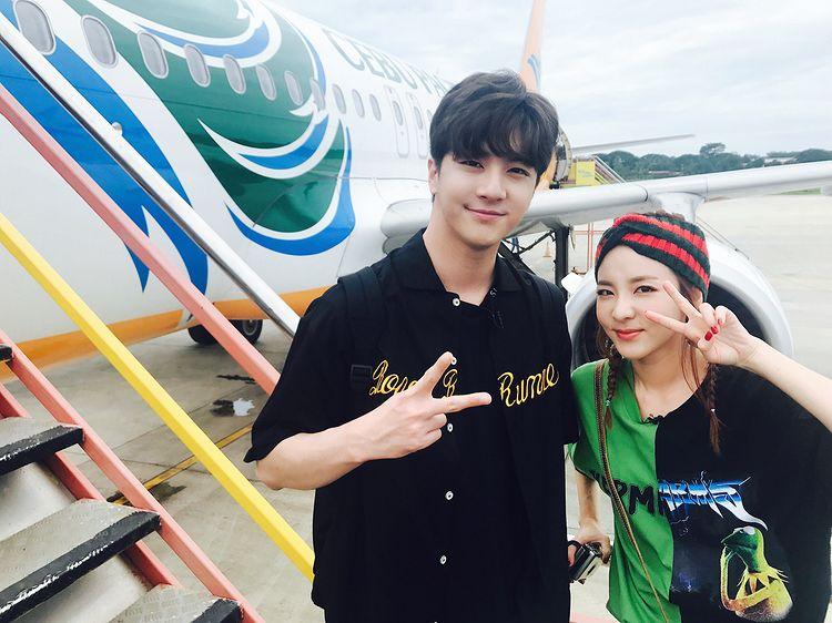 Korean stars who have celebrity siblings: Sandara Park and Thunder