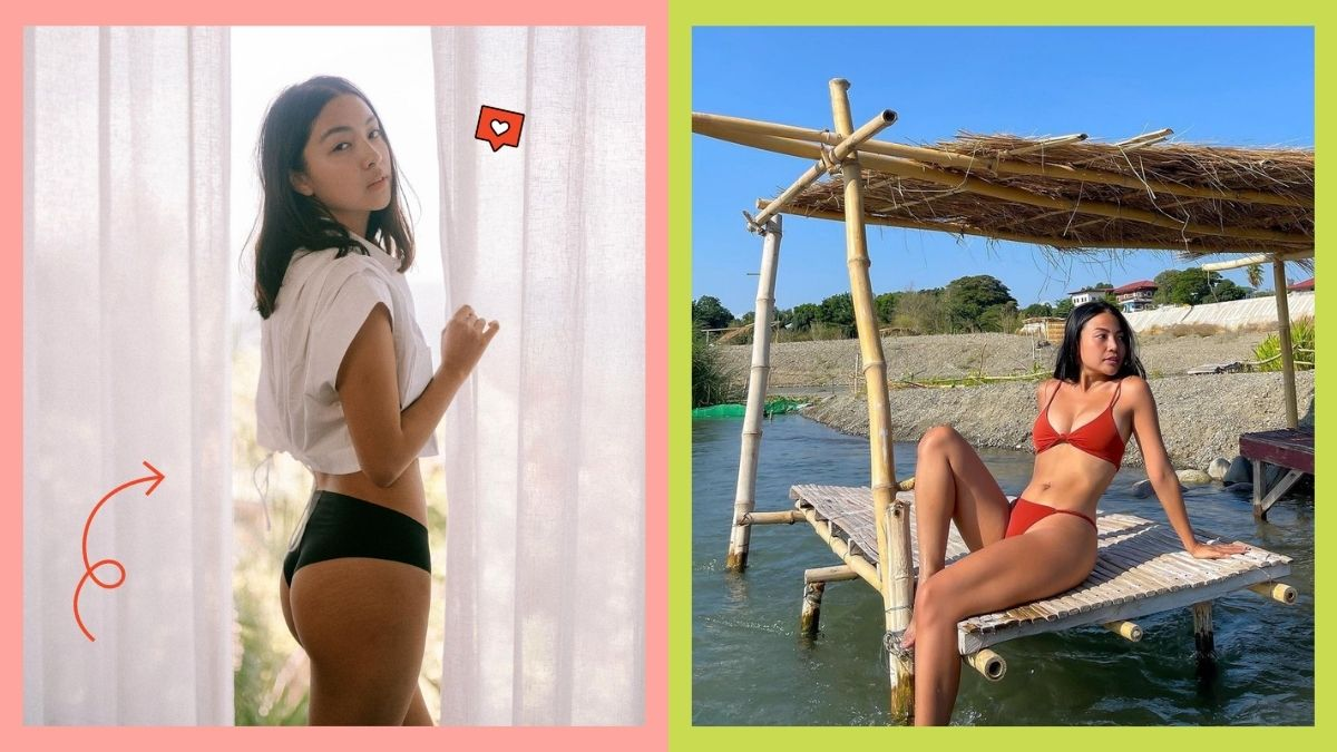 How to take a good thirst trap photo featuring Rei Germar and Michelle Dy