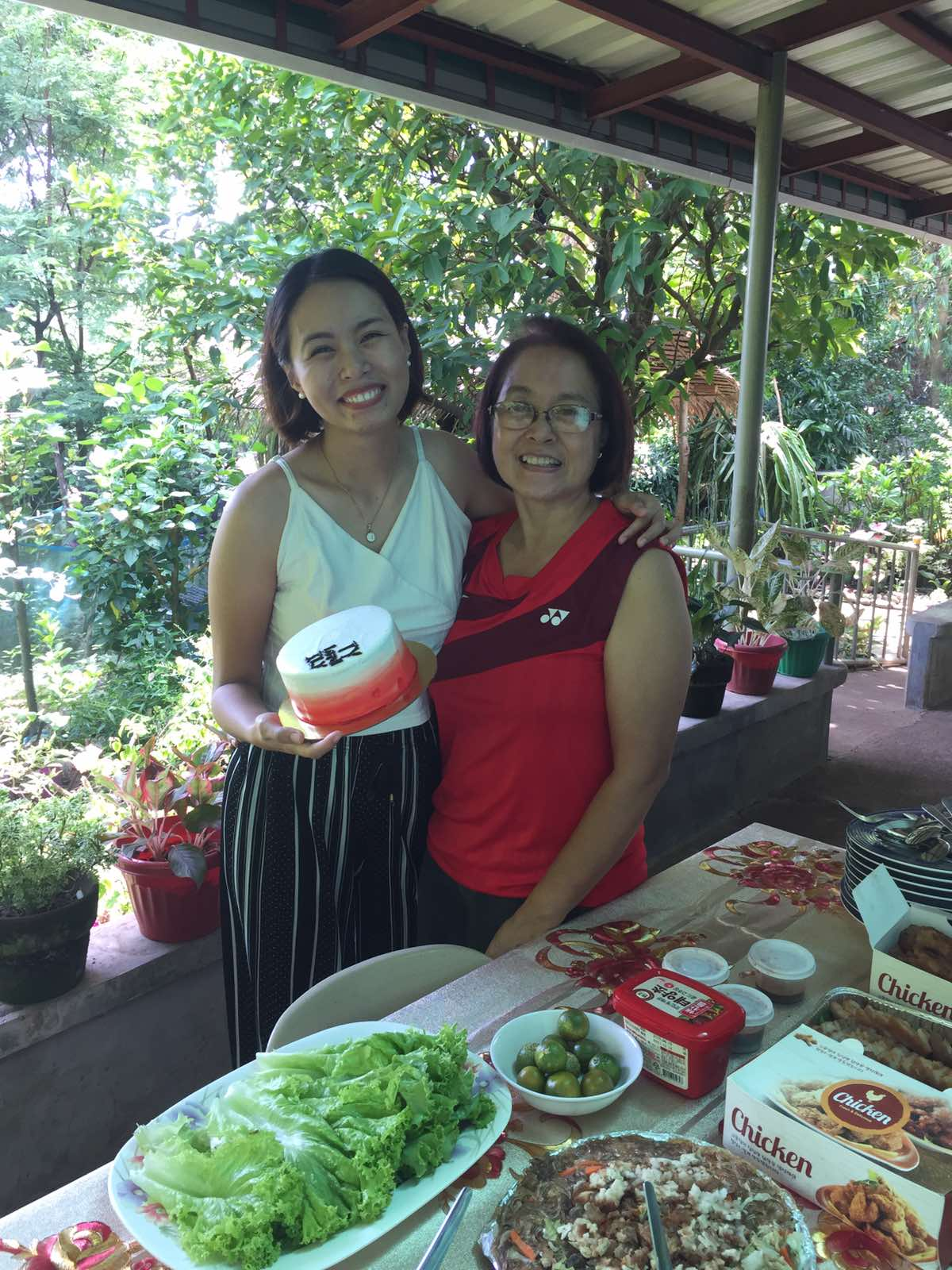 Pinay breadwinner daughter and mother