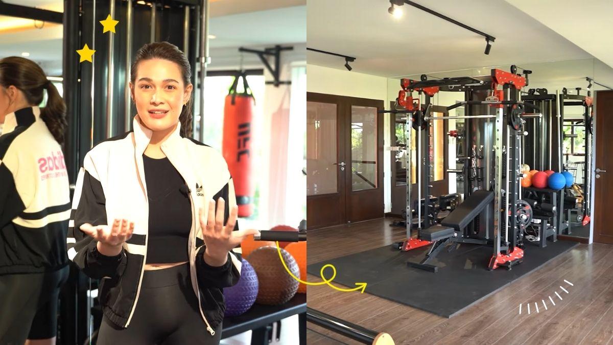 a tour of Bea Alonzo's home gym