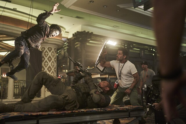 army of the dead stunts