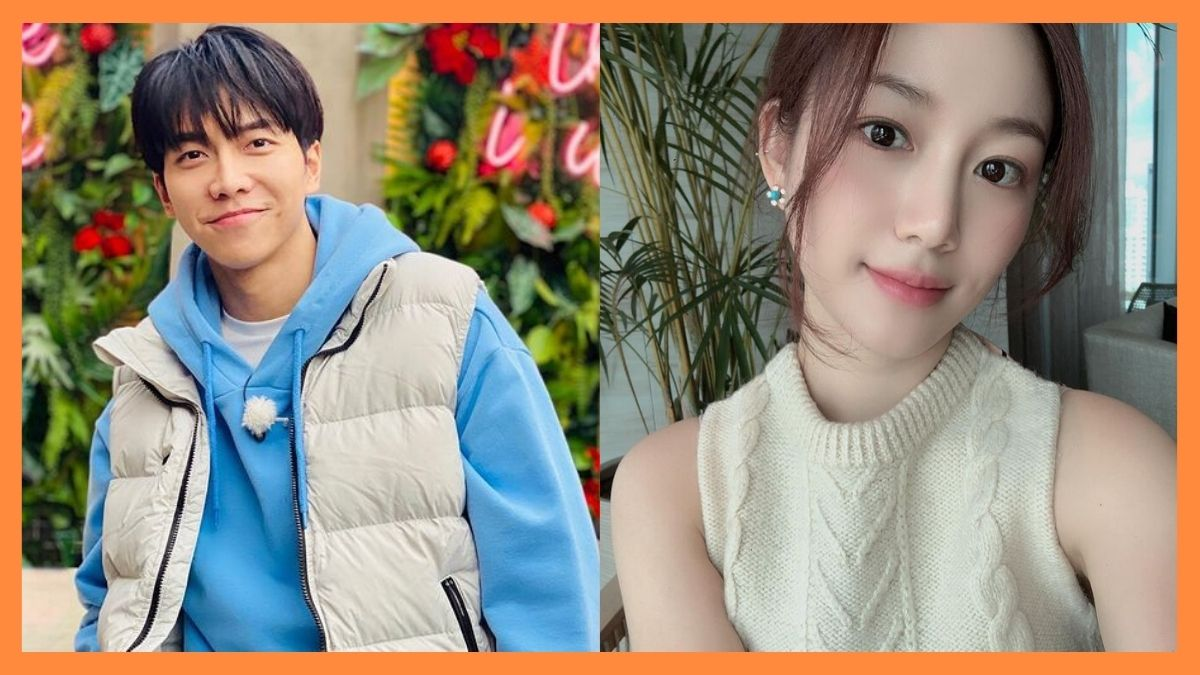 Lee Seung Gi and Lee Da In are confirmed to be in a relationship