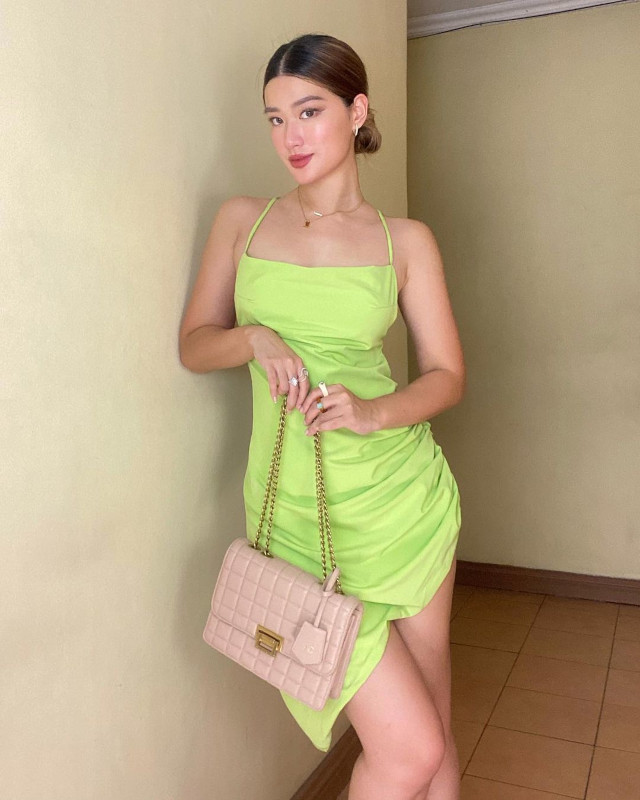 Green outfit: Janeena Chan