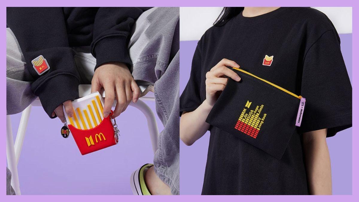 BTS x McDonald's Merch