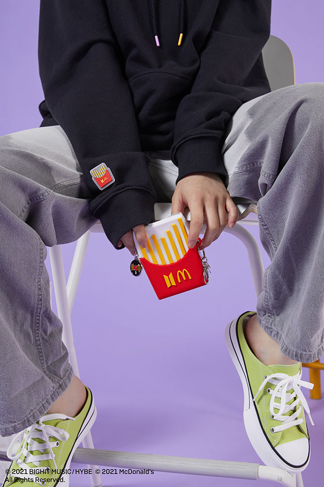 BTS x McDonald's Merch Collection French Fries