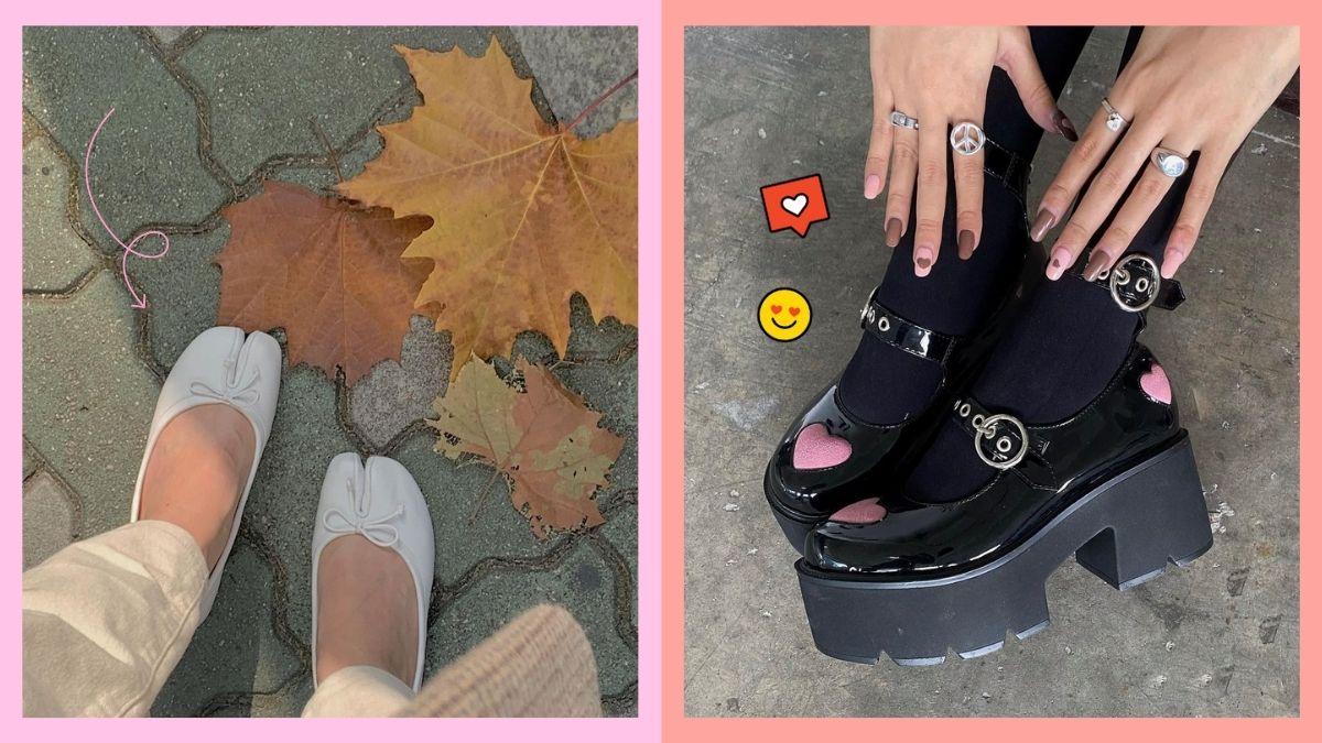 How to take cute shoefies