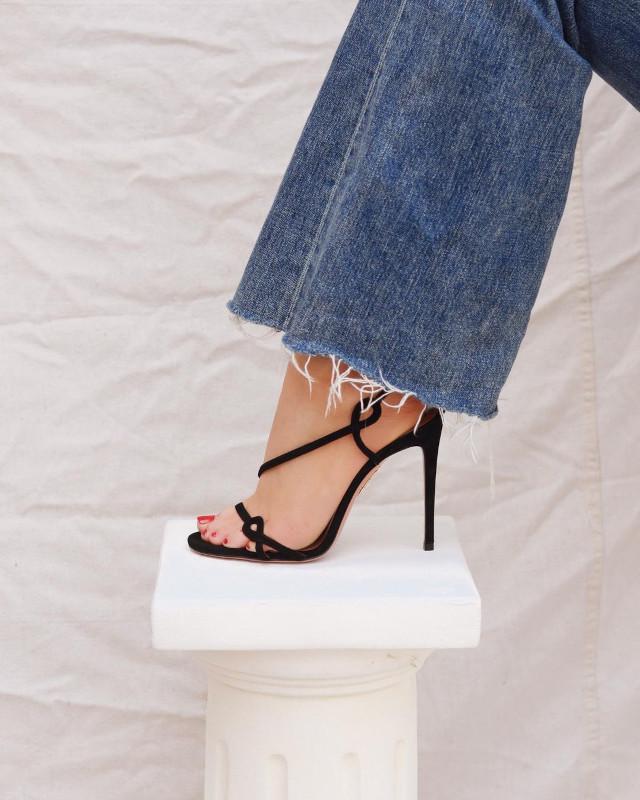 Kelsey Simone stiletto heels shoefie