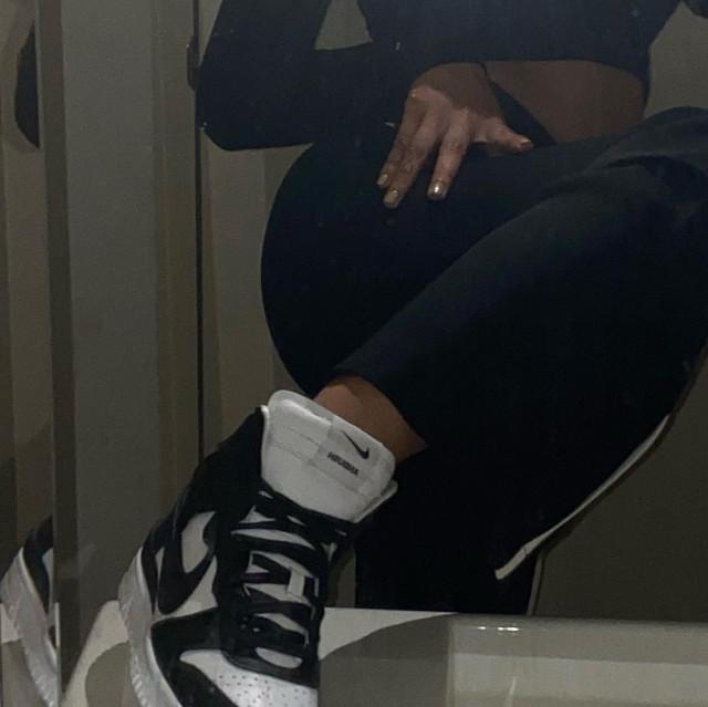 Nadine Lustre sneakers shoefie