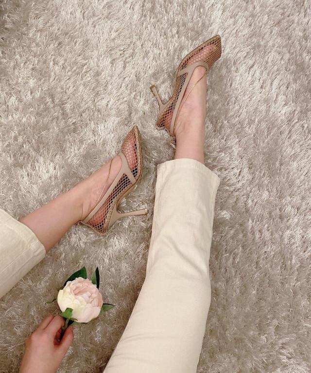 Verniece Enciso high heels shoefie