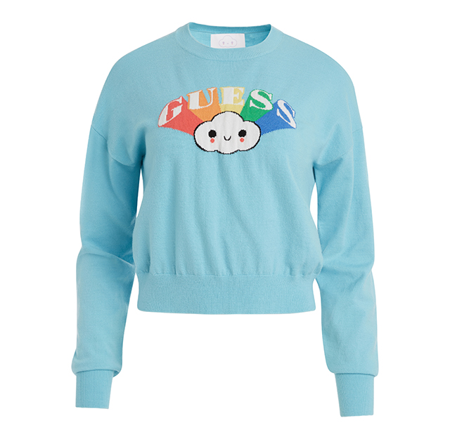 Guess x Friendswithyou cropped long sleeves