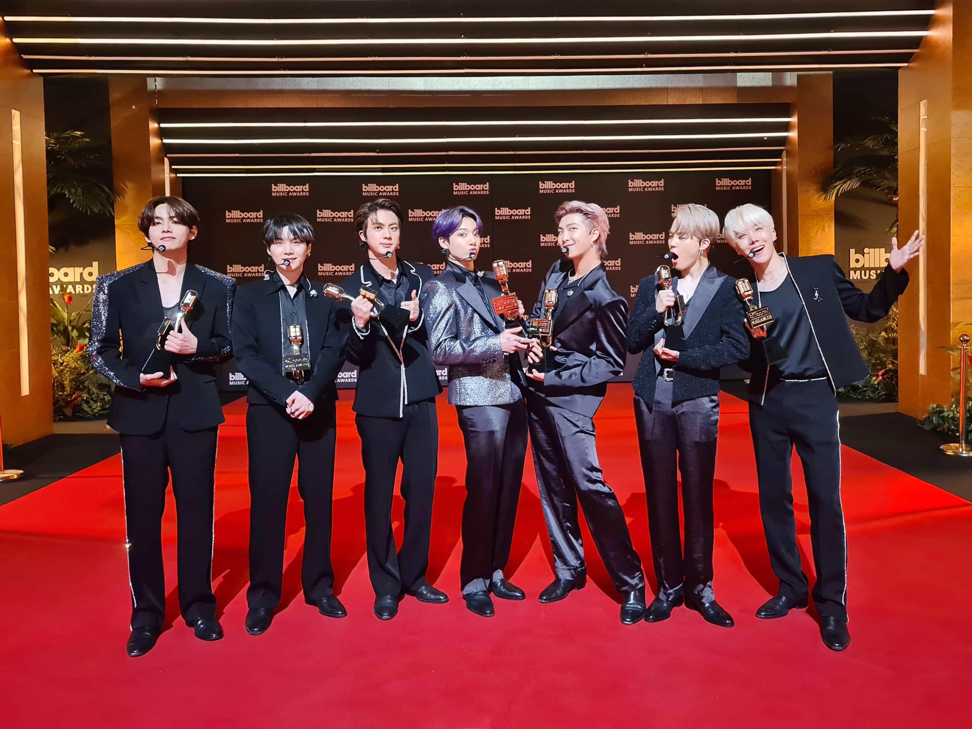 BTS Billboard Awards 2021